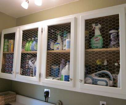 decorative chicken wire mesh for cabinets Laundry Room Before, After, Domestic Imperfection Decorative Chicken Wire Mesh, Cabinets Popular Laundry Room Before, After, Domestic Imperfection Solutions
