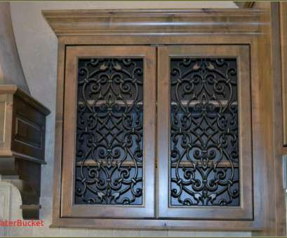 Decorative Wire Mesh Cabinet Doors Nice How To Create A Chicken Wire