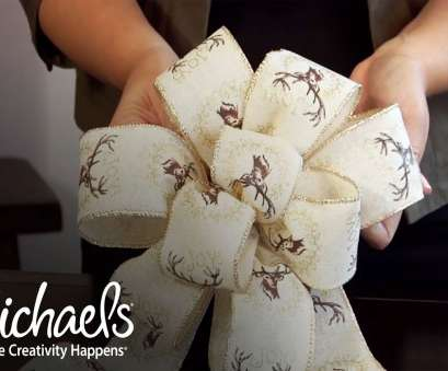 decorative wire mesh michaels How to Make a Bow,, Holiday, Michaels Decorative Wire Mesh Michaels Professional How To Make A Bow,, Holiday, Michaels Images