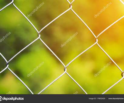 diamond mesh wire fence Detail of a diamond mesh wire fence with selective focus to, steel wire over a blurred green background with golden glow from, sun, Photo by Diamond Mesh Wire Fence Best Detail Of A Diamond Mesh Wire Fence With Selective Focus To, Steel Wire Over A Blurred Green Background With Golden Glow From, Sun, Photo By Pictures