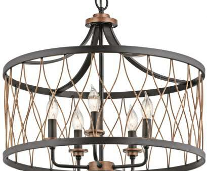 diamond wire cage pendant light Kichler Brookglen Black with Gold Tone French Country/Cottage Cage Pendant Diamond Wire Cage Pendant Light Best Kichler Brookglen Black With Gold Tone French Country/Cottage Cage Pendant Images
