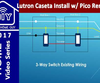 diy 3 way switch wiring diagram Diy 3, Switch Lutron Caseta Wireless Dimmer Install With No inside Lutron Pico Wiring Diagram Diy 3, Switch Wiring Diagram Best Diy 3, Switch Lutron Caseta Wireless Dimmer Install With No Inside Lutron Pico Wiring Diagram Ideas