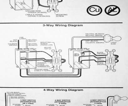 Diy 3, Switch Wiring Diagram Perfect Installation Of Single Pole, 3-Way, & 4-Way Switches, Wiring Diagram Solutions