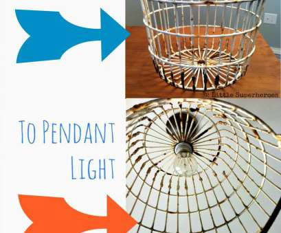 diy wire basket pendant light DIY, Basket Light I've been wondering, to do this! Quite simple! 11 New Diy Wire Basket Pendant Light Photos
