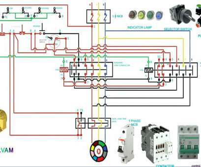 Dol Starter Wiring Diagram 3 Phase Perfect 3 Phase Contactor Wiring on