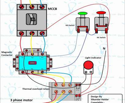 dol starter wiring diagram for 3 phase Three Phase Motor Wiring Diagram, Mem, Starter Wiring Diagram Valid Wiring Diagram A Dol 8 Simple Dol Starter Wiring Diagram, 3 Phase Images