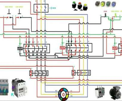 circuit, schematics � dol starter wiring diagram tamil professional two  speed motor starter connection, operation youtube inside,