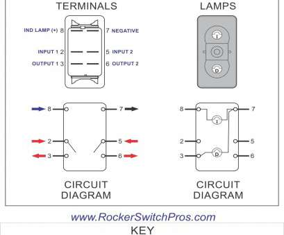 double pole illuminated rocker switch wiring Double Pole Rocker Switch, ON-OFF, Illuminated, Rocker Switch Pros 9 Most Double Pole Illuminated Rocker Switch Wiring Galleries