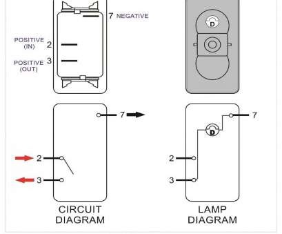 3 Pole Carling Switch Wiring Diagram - Wiring Diagrams Gb Spst Illuminated Rocker Switch Wiring Diagram on