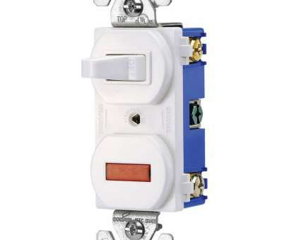 Double Pole, Way Switch Wiring Best Eaton Heavy-Duty Grade 15, Combination Single Pole Toggle Switch, Pilot Light In White Collections