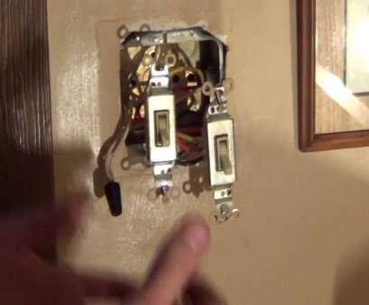double switch junction, wiring diagram best how to wire a double switch,  light switch