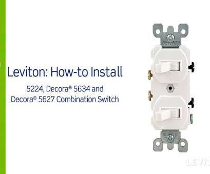 double switch wire diagram Leviton Double Switch Wiring Diagram, Leviton Presents, to Install A Bination Device with Two Double Switch Wire Diagram Professional Leviton Double Switch Wiring Diagram, Leviton Presents, To Install A Bination Device With Two Images