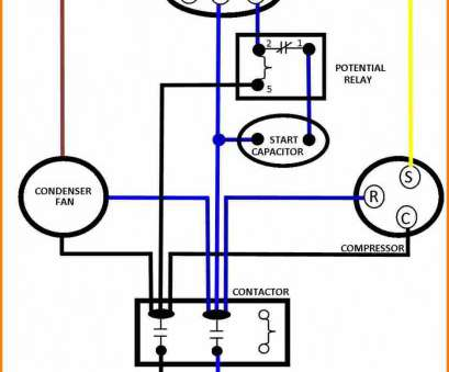 dual starter wiring diagram A C Compressor Capacitor Wiring Diagram Images, Dual Century Endear, Start Motor Dual Starter Wiring Diagram Cleaver A C Compressor Capacitor Wiring Diagram Images, Dual Century Endear, Start Motor Pictures