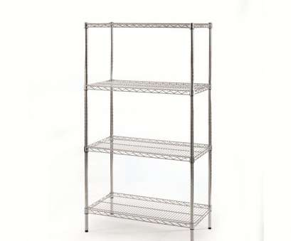 eclipse chrome wire shelving Eclipse Shelving, Chrome, 305mm(d), 4 Tier,, Products Eclipse Chrome Wire Shelving Simple Eclipse Shelving, Chrome, 305Mm(D), 4 Tier,, Products Images
