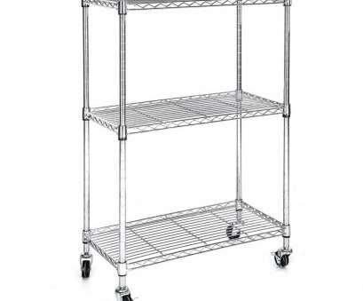 eclipse chrome wire shelving Wire Shelf Cart Incredible Heavy Duty Chrome 3 Tier Wire Shelving Rack Cart Unit with Eclipse Chrome Wire Shelving Creative Wire Shelf Cart Incredible Heavy Duty Chrome 3 Tier Wire Shelving Rack Cart Unit With Ideas