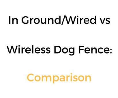 electric dog fence wireless vs wired In Ground/Wired vs Wireless Pet/Dog Fence Comparison: Which Is Better? Electric, Fence Wireless Vs Wired Perfect In Ground/Wired Vs Wireless Pet/Dog Fence Comparison: Which Is Better? Ideas