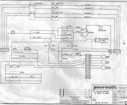 electric furnace thermostat wiring diagram top powrmatic wiring diagram  with electronic filter, capacitor rh videojourneysrentals