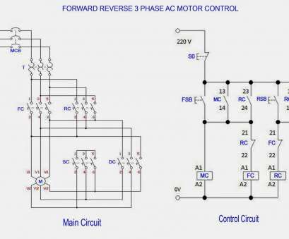 electric motor wiring diagram Forward Reverse 3 Phase AC Motor Control Wiring Diagram Electric Motor Wiring Diagram Perfect Forward Reverse 3 Phase AC Motor Control Wiring Diagram Collections