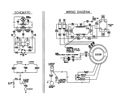 Electric Starter Wiring Diagram Most Genset Wiring Diagram With Electric Starter Switch, Customer Supplied Battery Photos