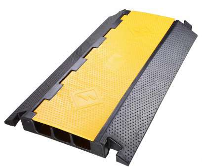 electric wire cover 3 Channel Rubber Electrical Wire Cable Protector Ramp Guard Warehouse Cord Cover Yellow & Black 0 Electric Wire Cover Creative 3 Channel Rubber Electrical Wire Cable Protector Ramp Guard Warehouse Cord Cover Yellow & Black 0 Pictures