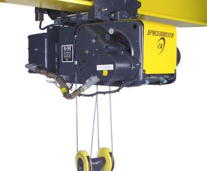 electric wire rope hoist R&M Hoists Spacemaster SX EX Wire Rope Hoists Explosion Proof Oregon Electric Wire Rope Hoist New R&M Hoists Spacemaster SX EX Wire Rope Hoists Explosion Proof Oregon Images