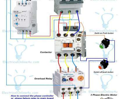 Electrical Contactor Wiring Diagram Professional 240 Volt ... on