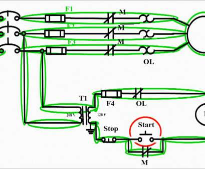Electrical Motor Control Panel Wiring Diagram Professional Motor Control Circuit Diagram / Start Stop 3 Wire Control., Tech Electric Galleries