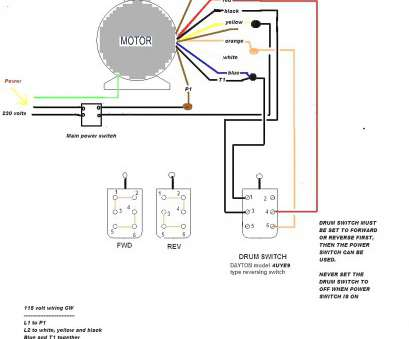 Electrical Motor Wiring Diagram Simple Century Electric