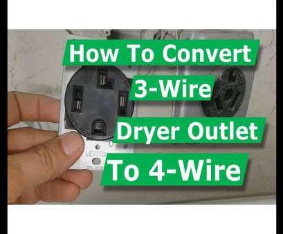 electrical outlet for dryer wiring How To Convert 3 Wire Dryer Electrical Outlet to 4 Wire Electrical Outlet, Dryer Wiring Top How To Convert 3 Wire Dryer Electrical Outlet To 4 Wire Images