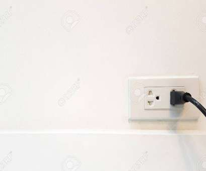 electrical outlet ground connection Electric cable in Electrical Outlet with ground wire on, Wall with copy space, label Electrical Outlet Ground Connection Perfect Electric Cable In Electrical Outlet With Ground Wire On, Wall With Copy Space, Label Collections
