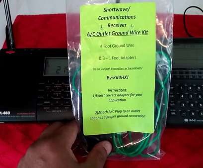 electrical outlet ground connection Shortwave indoor AC outlet ground wire, demonstration using portable radios Electrical Outlet Ground Connection Brilliant Shortwave Indoor AC Outlet Ground Wire, Demonstration Using Portable Radios Pictures