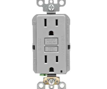 electrical outlet installation details Leviton 15, Self-Test SmartlockPro Slim Duplex GFCI Outlet, Gray Electrical Outlet Installation Details Brilliant Leviton 15, Self-Test SmartlockPro Slim Duplex GFCI Outlet, Gray Collections