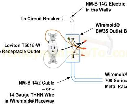 electrical outlet receptacle wiring How To Extend Power From An Existing Wall Outlet With Wiremold, Receptacle Wiring Diagram Random Electrical Outlet Receptacle Wiring Nice How To Extend Power From An Existing Wall Outlet With Wiremold, Receptacle Wiring Diagram Random Collections