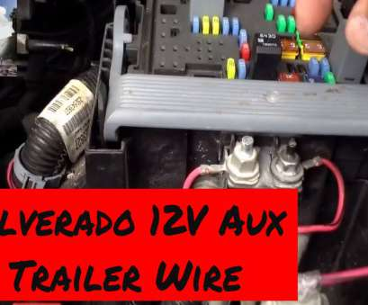 electrical outlet wires have no power Trailer Power Wiring 2007 to 2013 Chevy Silverado 12 volt auxiliary 11 Top Electrical Outlet Wires Have No Power Images