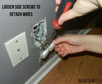 electrical outlet wires remove $10 Upgrade to Recessed Outlets & Push Furniture Against, Wall (5 Easy Steps!) Electrical Outlet Wires Remove Nice $10 Upgrade To Recessed Outlets & Push Furniture Against, Wall (5 Easy Steps!) Pictures