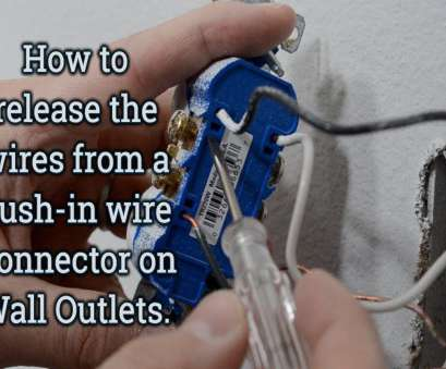 electrical outlet wires remove How to video on, to release, solid copper wire from, back push-. Wall OutletsCopper Electrical Outlet Wires Remove Simple How To Video On, To Release, Solid Copper Wire From, Back Push-. Wall OutletsCopper Pictures