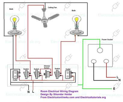 Home Electrical Wiring Diagram And Installation Basics ... on