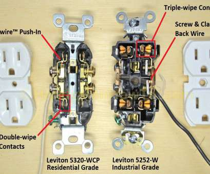electrical outlet wiring problems Electrical Outlets Side Wire Versus Back, Leviton Outlet Wiring Diagram Electrical Outlet Wiring Problems Best Electrical Outlets Side Wire Versus Back, Leviton Outlet Wiring Diagram Photos