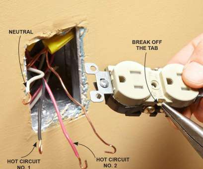 electrical outlet without wiring There, a, different reasons that an outlet breakaway, may be removed. If one-half of a duplex outlet is controlled by a wall switch Electrical Outlet Without Wiring Top There, A, Different Reasons That An Outlet Breakaway, May Be Removed. If One-Half Of A Duplex Outlet Is Controlled By A Wall Switch Galleries