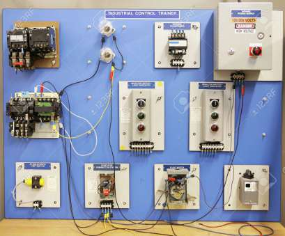 electrical panel board wiring training an industrial motor control training panel used in adult, rh 123rf, panel board wiring 13 Brilliant Electrical Panel Board Wiring Training Galleries