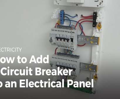 Electrical Panel Wiring Techniques Popular How To, A Circuit Breaker To An Electrical Panel, Electricity, YouTube Solutions