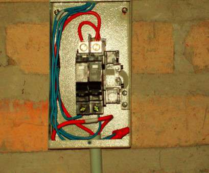 Electrical Panel Wiring Techniques Creative There, Some Major Differences In Wiring Techniques Between Here, The U.S., As, Can, By, Picture Of, Sub Panel Images