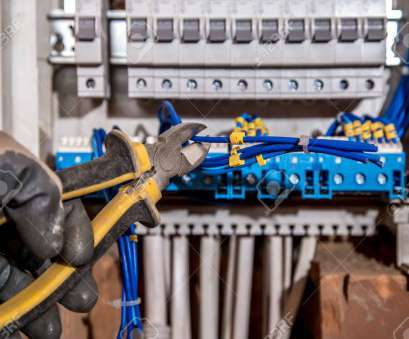 electrical panel wiring tools Stock Photo -, Assembly of, electrical panel, electrician job, a robot with wires, circuit breakers, tools Electrical Panel Wiring Tools Popular Stock Photo -, Assembly Of, Electrical Panel, Electrician Job, A Robot With Wires, Circuit Breakers, Tools Images