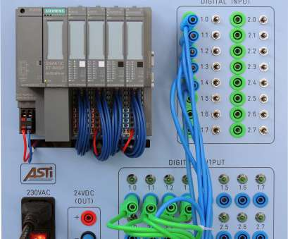 electrical panel wiring training ET200SP DIGITAL IO-LINK TRAINING PANEL SIEMENS, ASTI Automation Electrical Panel Wiring Training New ET200SP DIGITAL IO-LINK TRAINING PANEL SIEMENS, ASTI Automation Photos