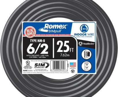 electrical wire cable types 6/2 Stranded Romex SIMpull CU NM-B, Wire-28894402 -, Home Depot Electrical Wire Cable Types Popular 6/2 Stranded Romex SIMpull CU NM-B, Wire-28894402 -, Home Depot Pictures