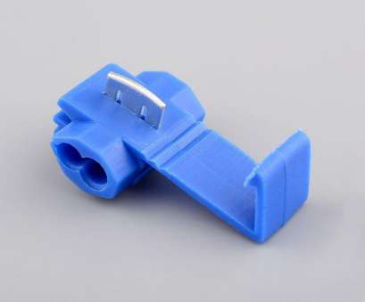 electrical wire clamp connector OEM Blue Plastic 50pcs Electric Quick Splice Wire Terminals Cable Clamp Connector Solderless 14 18 Gauge-in Battery Cables & Connectors from Automobiles 20 Creative Electrical Wire Clamp Connector Pictures