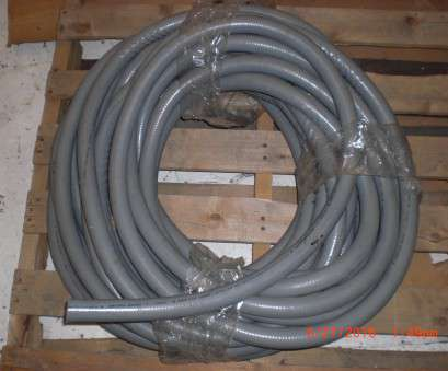 Electrical Wire Conduit Types Brilliant Electrical ANAMET Electrical Sealtite-1 40 Foot Anaconda 1 In Liquid-Tight Flexible Metal Solutions