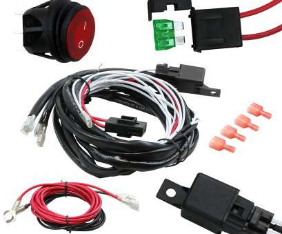 electrical wire connector bar EPAuto, Light, Wiring Harness Kit,, 40A Relay / Fuse / ON-OFF Switch Electrical Wire Connector Bar Simple EPAuto, Light, Wiring Harness Kit,, 40A Relay / Fuse / ON-OFF Switch Galleries