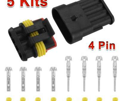 electrical wire connector pins 5, Car Superseal Electrical Wire Connector 4, Way Waterproof, HT389-in Connectors from Lights & Lighting on Aliexpress.com, Alibaba Group 13 New Electrical Wire Connector Pins Galleries