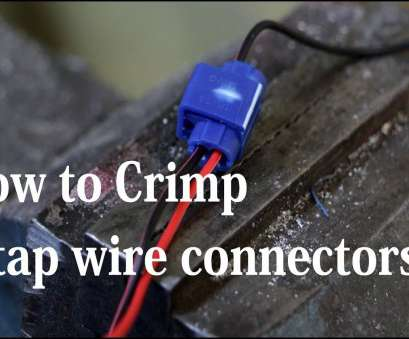 electrical wire tap connectors How to connect wires using t-tap connectors (wire taps) Electrical Wire, Connectors Brilliant How To Connect Wires Using T-Tap Connectors (Wire Taps) Images